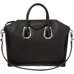 GIVENCHY Medium Antigona Leather & Perspex Bag ($2,950) found on Polyvore