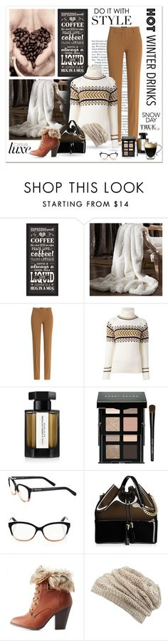 """""""Please. ... Coffee First"""" by sherrifitzgerald ❤ liked on Polyvore featuring PTM Images, Etro, &Daughter, L'Artisan Parfumeur, Bobbi Brown Cosmetics, Kartell, Charlotte Russe, maurices and Starfrit"""