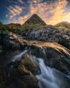 Majestic Travel Landscapes in Scotland by David Aguilar Outdoor Photography, Landscape Photography, Travel Abroad, Trees To Plant, Wonderful Places, In The Heights, Waterfall, Surfing, Adventure