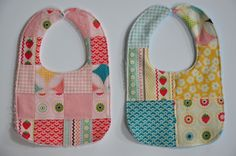 Clover & Violet — Patchwork Bibs and Burp Cloths with Terry Cuddle