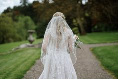 Love Across the Water: Alexa & Aaron's Castle Leslie Wedding | OneFabDay.com Ireland Wedding Veils, Lace Wedding, Wedding Dresses, Ireland, Castle, Water, Inspiration, Fashion, Saddle Pads