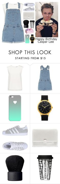 """""""Happy (late) Birthday Caspar Lee!"""" by nerd-ville ❤ liked on Polyvore featuring Finders Keepers, Dorothy Perkins, Casetify, adidas Originals, Proenza Schouler, NARS Cosmetics, Dot & Bo, youtube and CasparLee"""