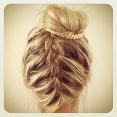 My own creation of beachy braids :)