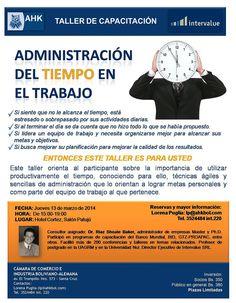 AHKBOL - Taller de Capacitacion: Administracion del Tiempo en el Trabajo