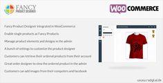 Fancy Product Designer v1.0.24 WooCommerce plugin free