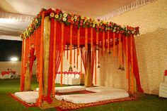 Inspired by prie's brother's wedding mandap