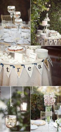 Shabby Chic party table