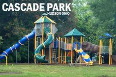 Cascade Park Playground Hudson Ohio