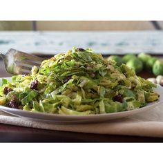 Brussels Sprout Salad Recipe | The Spice & Tea Exchange