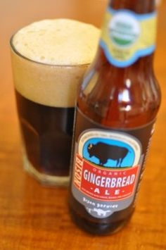 Bison Organic Gingerbread Ale--oh please, please, PLEASE let Tipple's or Dorn's get this!