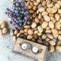 Dagens høst: Moscatel-druer mandler og en død slange.