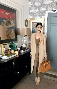 Office Fashion, Work Fashion, Fashion Pants, Celebrity Fashion Outfits, Celebrity Style, Classy Outfits, Chic Outfits, Heart Evangelista Style, Filipino Fashion