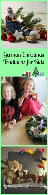 Incorporate some of these wonderful German Christmas Traditions into your holidays to teach the kids about German Culture.