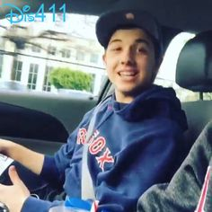 Jordan Fisher Posted A Video Of Bradley Steven Perry Singing In The Car January 30, 2015 - Dis411