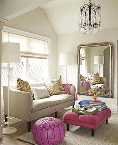 paisley ~ gorgeous sitting area