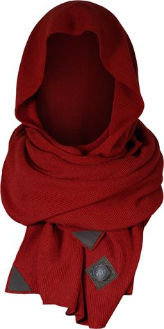 Huge super-soft wool scarf in Assassin's Creed Syndicate design  The Hansom is a huge super-soft wool scarf with distinct applications that set this piece right into the world of Assassin's Creed Syndicate. The fiery red colour makes it a perfect supplement to Evie's outfit, and therefore, looks incredible when combined with Evie's Coat or the Fairfax cardigan. The new Syndicate inspired interchangeable button is highlighted on top of a decorative leather patch.  50% Merino Wo...