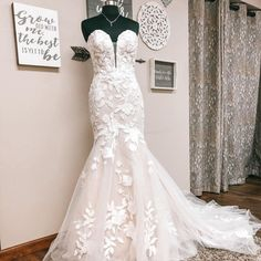 """Atlas Bridal Shop on Instagram: """"New Arrival Alert!!!! We have been impatiently waiting for this beauty to arrive ! We all loved this gown so much when we saw it back in…"""" Bridal Lace, Bridal Gowns, Wedding Gowns, Budget Wedding, Love Is All, Mermaid, Bride, Stylish, Sexy"""