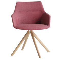 Shop Dunas XS Armchair Wooden Swivel Base by Inclass. Streamlines the process of furniture and product procurement, delivery and installation for architects and interior designers Upholstered Arm Chair, Armchair, Unique Furniture, Furniture Design, Rustic Stools, Accent Chairs Under 100, Outdoor Lounge Chair Cushions, Furniture Companies, Upholstery