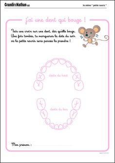 Le mémo de la petite souris Diy For Kids, Crafts For Kids, Free Frames, Tooth Fairy, Baby Hacks, Babysitting, Positive Attitude, Diy Paper, Paper Craft