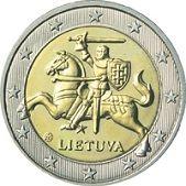 2 euro Litouwen