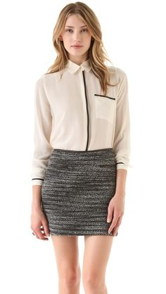 Great summer to fall transitional outfit from Club Monaco