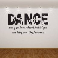 If your a dancer read this dancing quote