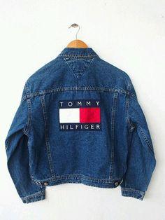 c00aa99e denim, fashion, and tommy hilfiger image Vintage Tommy Hilfiger Jackets, Tommy  Hilfiger Jeans