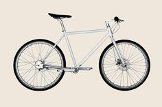 Biomega Copenhagen. A beautiful bicycle that has no chain! $1500