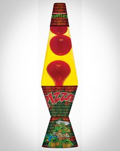 TMNT Pizza Lava Lamp. -- $19.99