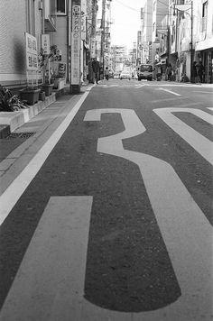 道路標示 (The road surface marking)