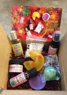 Fall Fortune Cookie Soap Box (2013)