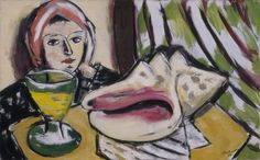 Max Beckmann (1884-1950), Still Life with Large Shell, 1939, Oil on canvas, 50 x 81 cm | The Baltimore Museum of Art