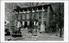 Randolph County WV historic 1861   The Elkins / Randolph County YMCA