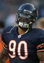 Julius Peppers. Awesome athlete. Glad to have him on our team.
