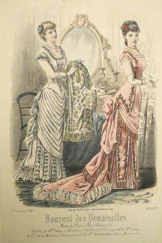journal des demoiselles | Journal des Demoiselles, Année 1881, planche 01_4292bis