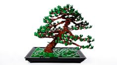 Lego meets Bonsai! Incredible beautiful Lego design, but at about 1,500 votes this one has a way to go to reach the 10,000 supporter mark for Lego to review it.