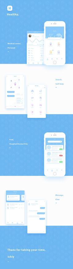 health app on Behance