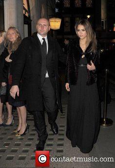 Jessica Alba @ Salvatore Ferragamo  Celebrates  75 Years  on Bond  Street