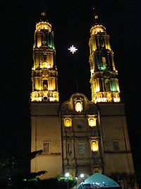 Cathedral in Villahermosa.