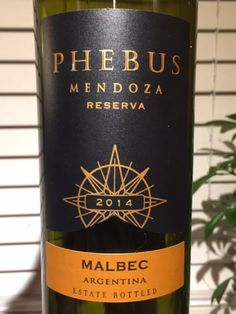 Image result for phebus mendoza malbec 2014