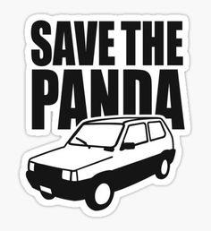 Save the Panda Sticker