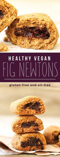 Vegan Gluten-Free Fig Newtons