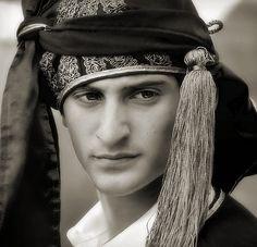Greek dancer in Pontian dress
