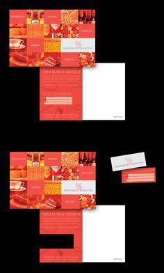 Cartão Postal/Convite para a inauguração do Empório Ghattas