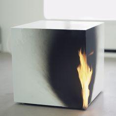 Jeppe Hein - Burning Cube
