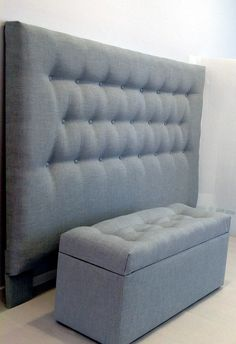Our matching blanket box and bedhead complete a bedroom space perfectly. Sofa Design, Furniture Design, Plywood Furniture, Design Design, Modern Furniture, Box Bedroom, Bedroom Ideas, Bedroom Cupboard Designs, No Sew Curtains