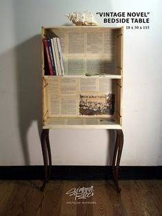table/mini industrial style by SimonaRicciUpcycled on Etsy