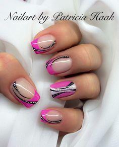 Nageldesign von pink-50