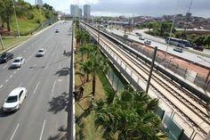 Pregopontocom Tudo: Plantio de palmeiras tem início em novo trecho Linha 2 do metrô de Salvador ...