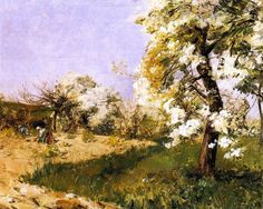 Frederick Childe Hassam - Pear Blossoms